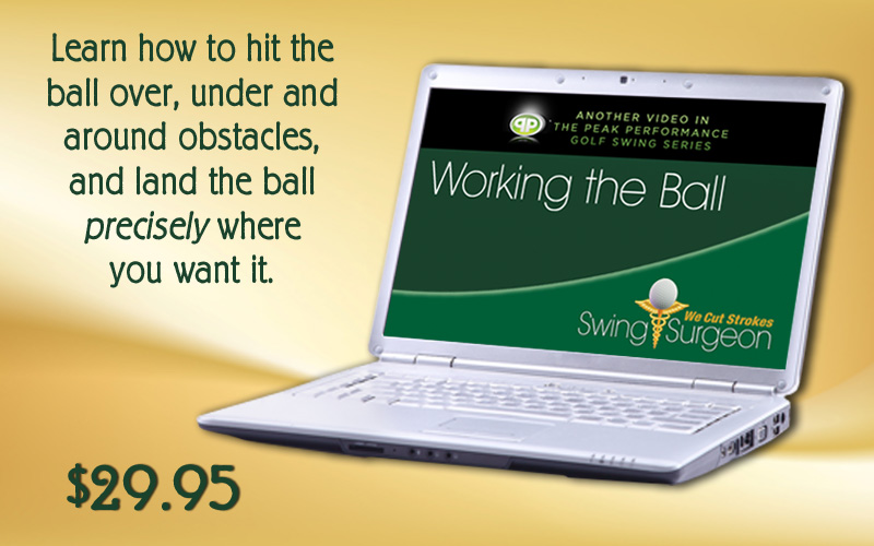 Working the Ball - Shot Shapping