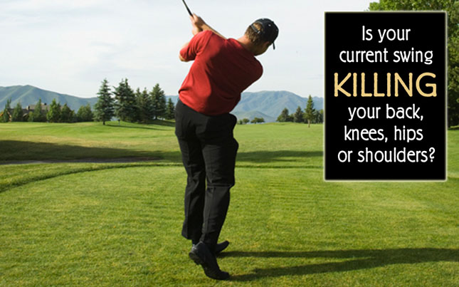Cure Golf Back Pain